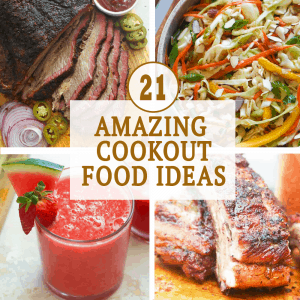 Cookout Food Ideas