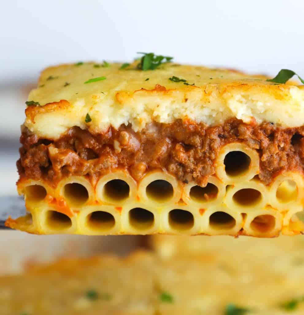 Greek Lasagna Pastitsio