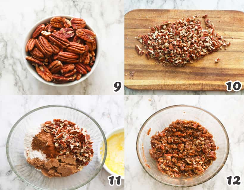 How to Make a Pecan Streusel