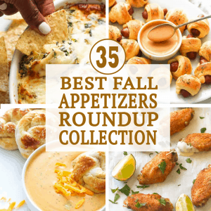35 Best Fall Appetizers Roundup Collection