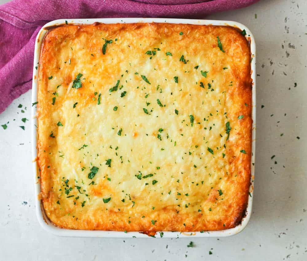 Freshly Baked Cheesy Greek Lasagna Pastitsio