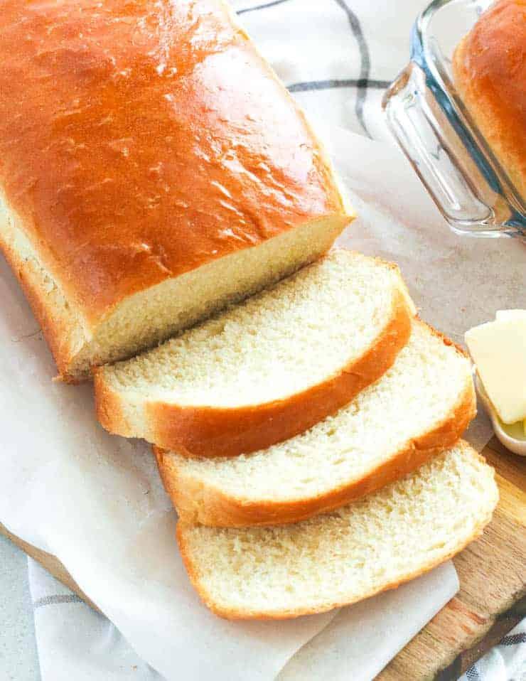 The most common type pf bread - White Bread