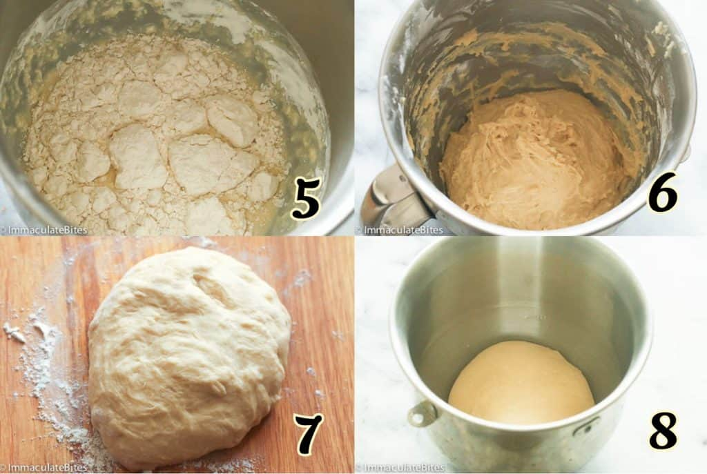 Pani Popo Bread Dough