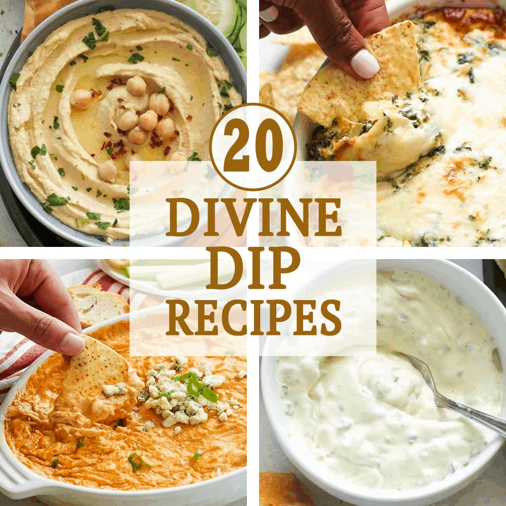 20 Divine Dip Recipes