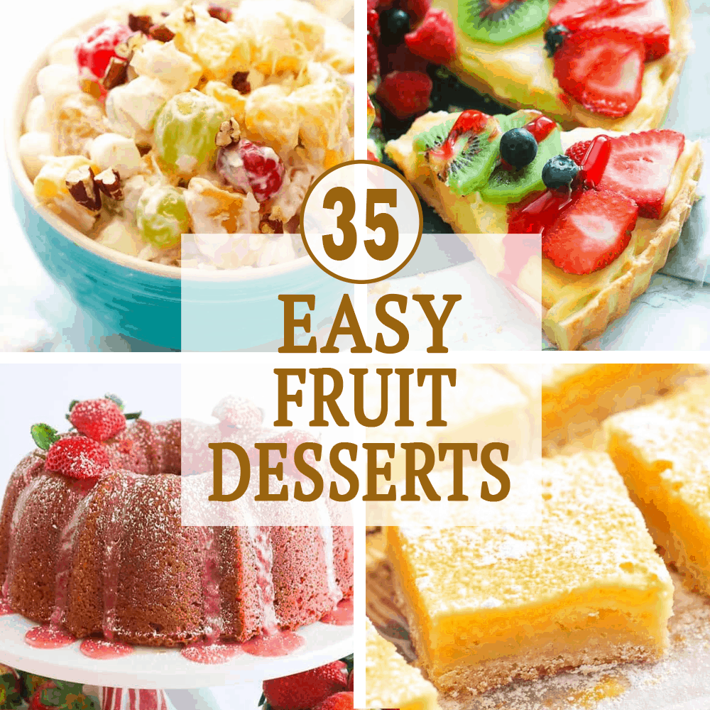 Easy Fruit Desserts