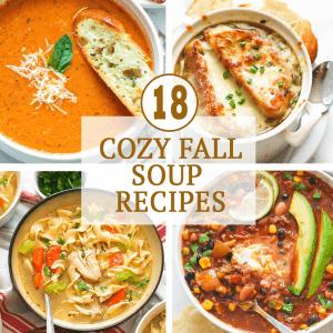 Cozy Fall Soup Recipes