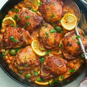 Chicken Tagine in a Skillet