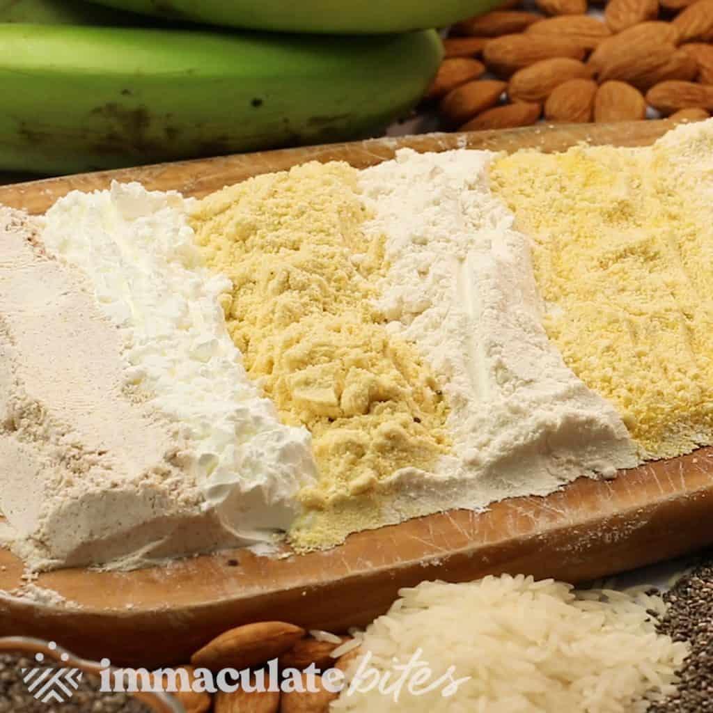 Gluten-Free Flour Substitutes