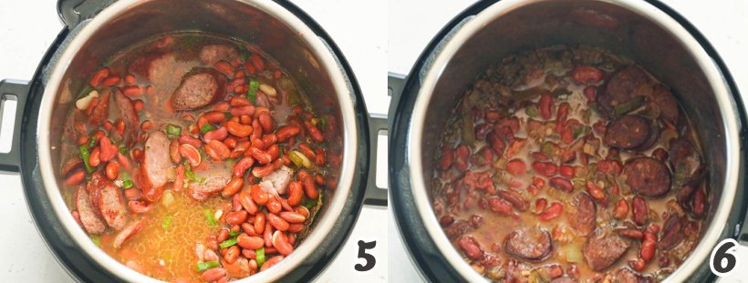 Red Beans are almost done