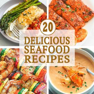 20 Delicious Seafood Recipes