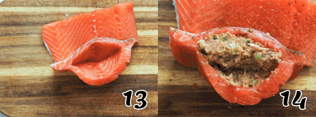 Crab and Salmon 13-14