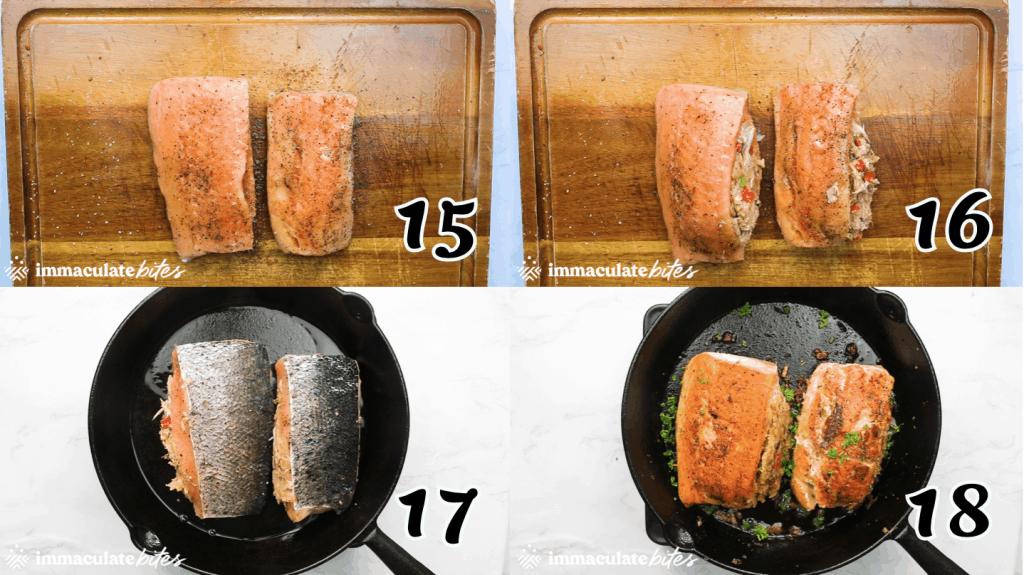 Crab and Salmon 15-18