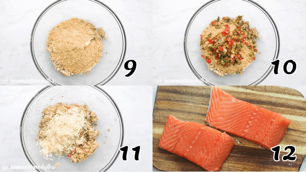 Crab Stuffed Salmon 9-12